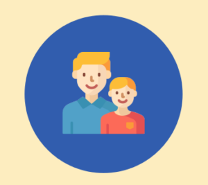 parent with child icon